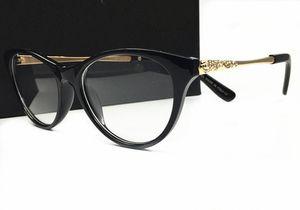 Luxe Mode Femmes Marque Designer Populaire Lunettes Optique Lentille Cat Eye Plein Cadre Noir Tortoise Marron Come With Original Case