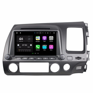 "1024 * 600 Android 7.1 Quad Core 2 din 8 ""Car DVD Car radio dvd GPS Multimedia Player لهوندا سيفيك RHD 2006 2007 2008 2009 2010"