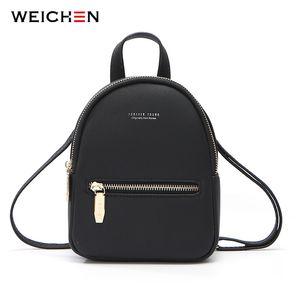 Weichen nuevo diseñador moda mujer mochila mini suave toque multifunción pequeña mochila mujer bolso de hombro de la muchacha monedero Y18110201