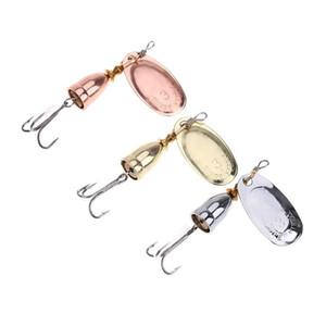 Новый спиннер металл Лазерная приманка 6 размеров 3 цвета спина блестки Spinnerbaits ложки приманки Рыбалка VMC крюк