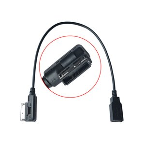 Car USB AUX Cable Music MDI MMI AMI to USB Female Interface Audio AUX Adapter Data Wire For AUDI A3 A4 A5 A6 Q5