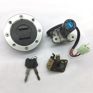 Motocicleta Ignição Fuel Cap gás para a Suzuki GSXR1000 2001-2002 SV650 1999-2002 TL1000R 1998-2003 GS500 2001-2002