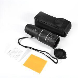 40x60 Clarity HD Optik Zoom Pocket Teleskop Monocularteleskop Low Night Vision Green Film Optik Teleskop für Reise Sport