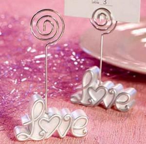 새로운 사랑 WEDDING Place Card CLIP 홀더 결혼식 사진 프레임 / 테이블 카드 홀더 결혼식 부탁 용품 SN410