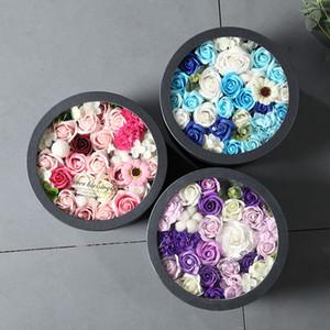 Confezione regalo di sapone rosa fiore di sapone fiore fresco Fiori secchi regalo Prodotti floreali Saponaria