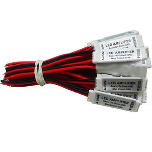 Dc12v 3 * 4a 144 واط البسيطة المحمولة rgb led قطاع مكبر للصوت مكرر ل led قطاع rgb smd 5050/2835/3528/5730/5630/3014