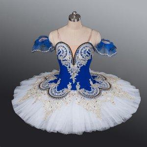 Blue bird professional tutu women pink ballet pancake tutu nutracker tutu ballet costume Child Performance ballerina clothes adult