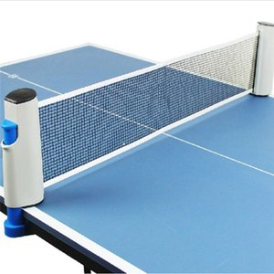 Retractable Table Tennis Table plastic Strong Mesh Net Portable Net Kit Net Rack Replace Kit for Ping Pong Playing