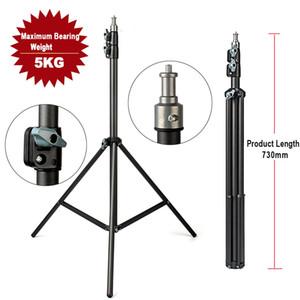 2M Light Stand Stativ mit 1/4 Schraubenkopf Lager Gewicht 5KG für Studio Softbox Flash Regenschirme Reflektor Beleuchtung