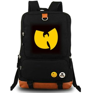 Wu Tang Clan Rucksack Method Man hiphop daypack Rap-Band-Musik-Leinwand Schulranzen Rucksack Schulranzen Laptop im Freien Tagesrucksack