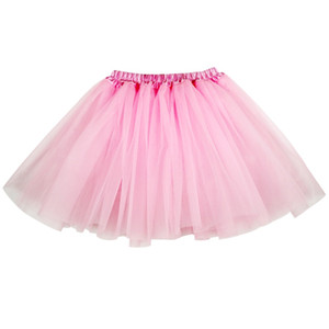 Fashon Women 3 layers Organza Tulle Tutu Skirt Party Performance Girl tutu Petticoat