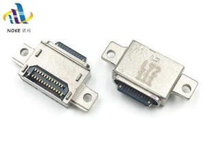 20PCS USB ميناء الشحن قفص الاتهام مقبس التوصيل جاك لسامسونج غالاكسي S8 S9 J7 موصل الشحن