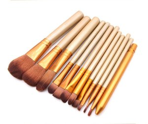 Dropshipping in stock Makeup Tools Brushes Nude 12 piece Professional Brush sets Iron box with gift