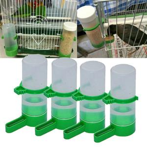 4 adet Kuş Parrot Tiryakisi Besleyici Waterer için Klip Aviary Budgie Cockatiel için Birdbird İçme Kase Kuş Besleyici Gıda Konteyner