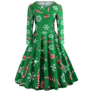 женщины футболка роскошные женщины дизайнер свитера Рождество шею длинным рукавом печатных трапеция юбка платье jy12726 женская толстовка с капюшоном тигр свитер