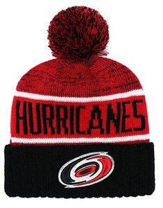 Nuovi berretti Carolina Hurricanes Hockey 2018 Beanie lavorato a maglia caldo Pom Pom Knit Hats Baseball Calcio Basket Sport Beanie Ordine della miscela Tutti i tappi