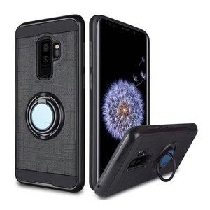 Armor caso de telefone celular tpu pc suporte de sucção magnética para lg tributo alcatel ídolo 5 case capa titular de 360 graus