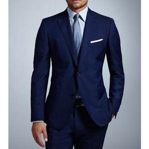Королевский синий формальные мужские костюмы для свадебной одежды из двух частей классический стиль на заказ вечерние женихи смокинги брюки куртка