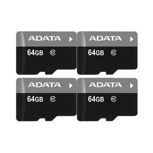 ADATA 100% real capacidade completa 128gb 64gb 32gb 16gb 8gb cartão de memória de 4GB C10 C6 TF Flash em Alta Velocidade + adaptador gratuito SD em caso de plástico transparente