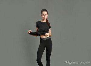 Yogahosen Sporthosen für Frauen eng anlaufende Fitness umfassende Training Leggings schnell trocken Stretch atmungsaktiv 2017 neu