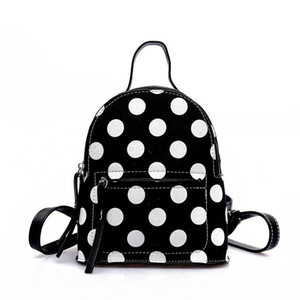 2018 Summer New Arrivals Mini Women Backpack With Little Dots Basic Female Bags With The Best Price