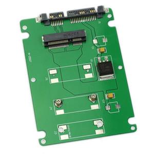 "Freeshipping 10 pcs GTFS-50mm mini PCI-E mSATA SSD para 7mm 2.5 ""SATA 22pin Gabinete Caso De Disco Rígido"