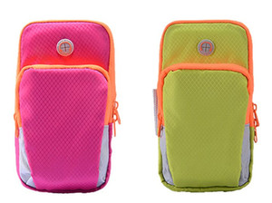 Exercise Arm Bags Waterproof Phone Bag Multifunctional Brachial Package mix any color