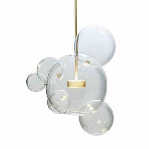 Modern Bolle Lamp Led Pendant Light Glass Globe Led Hanging Lamp Fixtures Indoor Lighting Lustre luminaria Suspend Lamp