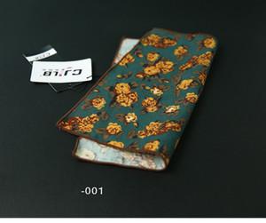 Fancy Herren Krawatte Schal Taschentücher Baumwolle Einstecktuch Taschentücher Männer Business Square Taschen Hanky Taschentuch Mode Krawatten Accessoires