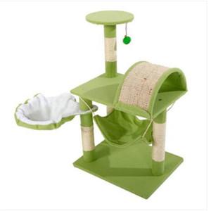"""M46 32"""" стабильный милый сизаль Cat Climb держатель Cat Tower ягненок розовый синий зеленый Cat мебель скребки поставки"""