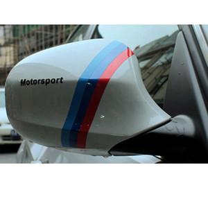 CAR مرايا شرائط لاصقة 3COLOR FOR BMW E39 E36 E32 E90 E91 E87 X1 Z3 X5 X3 F10