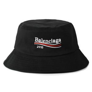 2018 Moda Baln Bucket tapa plegable Pesca Caps Negro Fisherman Hot Beach Sun Visor venta plegable hombre Bowler Cap para hombre para mujer