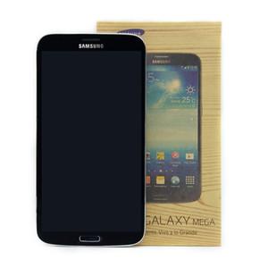 6,3-дюймовый оригинальный Samsung Galaxy Mega 6,3 I9200 разблокированный телефон двухъядерный 1,7 ГГц 1,5 ГБ оперативной памяти 16 ГБ Rom 8MP Восстановленные телефоны