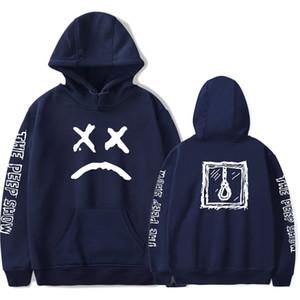 Lil Peep Hoodies Homens Camisolas Com Capuz Pullover Manga Comprida Preto Moda Casual Rapper Hip Hop Moletons