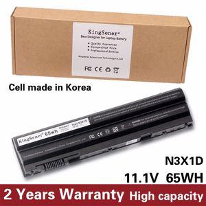 KingSener Korea Cell 65WH N3X1D Аккумулятор для ноутбука DELL Latitude E5420 E5430 E5520 E5530 E6420 E6520 E6430 E6440 E6530 E6540