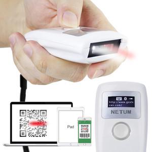 NTEUM Barcode Scanner Handheld Inalámbrico Bluetooth Luz Roja Escáner CCD Soporte One-Dimension Scanning Decod Inteligente Envío Gratis NB