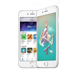 5PCS desbloqueado Apple iPhone 6 Plus sin huella digital RAM 1GB ROM 16/64 / 128GB IOS Dual Core 8MP / Pixel 4G LTE restaurado teléfono móvil