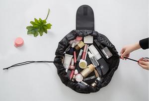 4 ألوان Vely Vely الرباط حقيبة مستحضرات التجميل السفر قدرة كبيرة المحمولة كسول حقائب التجميل البوليستر المكياج الحقيبة 30pcs