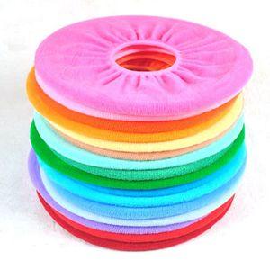 Wärmer WC Sitzabdeckung für Badezimmer Produkte Pedestal Pan Kissen Pads Lycra Verwendung in O-förmig bündig komfortable Toilette zufällig