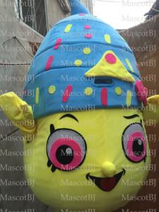 Bigné gelato fragola bacio dotazione completa Tutti i nuovi t6y UK mascotte del costume della mascotte del vestito operato dal costume della mascotte del vestito outfit completo
