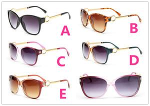20 UNIDS VERANO Mujeres gafas de sol de metal Gafas de sol de lujo para adultos señoras Diseñador de la marca de moda Negro Gafas niñas conducir gafas de sol