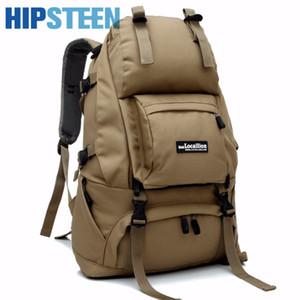 HIPSTEEN Ноутбук Дорожная сумка большая емкость 40L Мужчины Многофункциональное багажа сумки для путешествий высокого качества водонепроницаемый Оксфорд рюкзаки