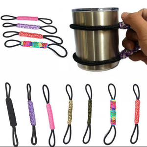 Paracord Cup Handle Braided Cup Holder Tumbler Paracord Handmade Handles For 20 oz 30 oz OOA5360