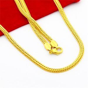 Roman Reigns real 24K bañado en oro amarillo elegante collar para la joyería del encanto de la cadena hiphop del partido
