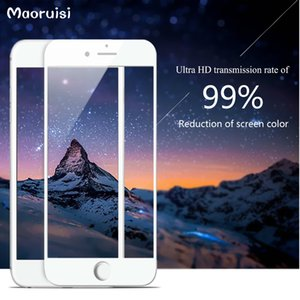 Full Screen Protection Tempered Glass 9H For iPhone 5 6 7 Plus Screen Protector Film Glass On The iPhone 5 5S 5C SE 6 6s 7 Plus