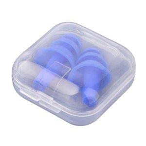 3 pezzi orecchio morbido silicone spine dell'isolamento acustico Ear Protection Tappi per le orecchie antirumore Sleeping Spine per viaggi a basso prezzo
