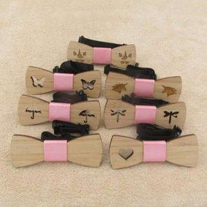 Laço De Bambu De Madeira Das Mulheres Meninas De Madeira Gravatas Borboleta Corbatas Borboleta Gravata Partido Laços Para A Mulher De Madeira laços