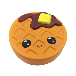 2018 Hottest Kawaii Jumbo Squishy Chocolate Cake Bread Sented Slow Rising phone straps 12cm Squishies Cake Free Shipping