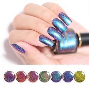 BORN PRETTY Chameleon Vernis À Ongles 6ml Glitter Galaxy Chameleon Série Nail Art Manucure 7 Couleurs