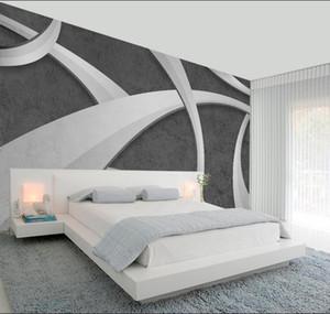사용자 지정 3D 월페이퍼 거실 다공성 콘크리트 시멘트 벽 텍스처 라임 방수 벽화 벽지 홈 장식